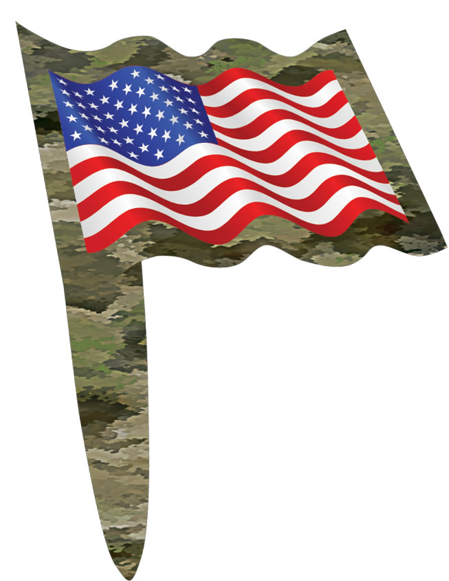 American Heroes Patriotic Party Picks - 24 pk.