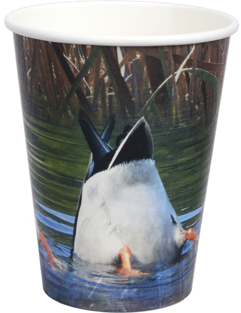 Duck Pond 12 oz. Paper Cups