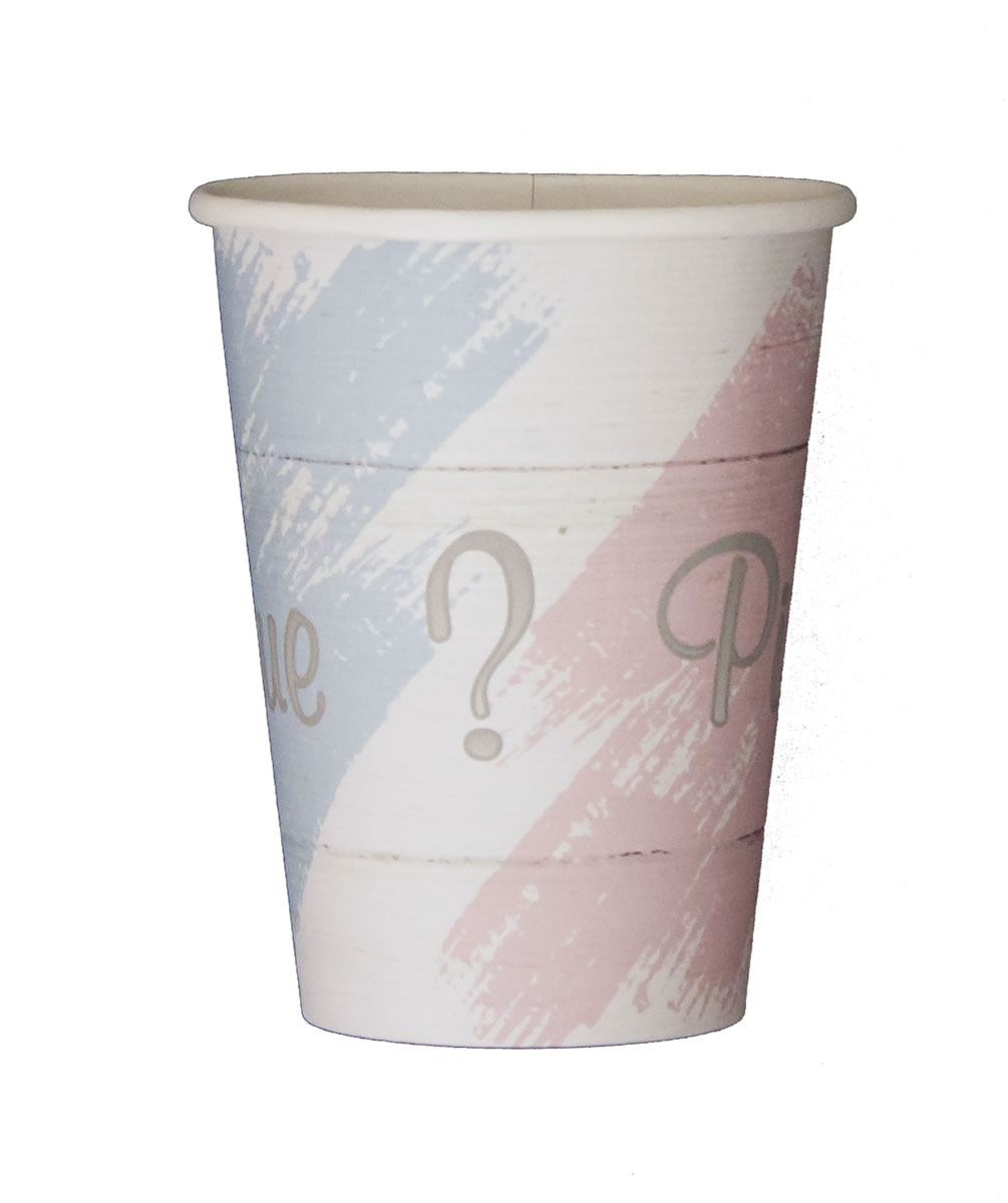 Blue or Pink? Paper Cups