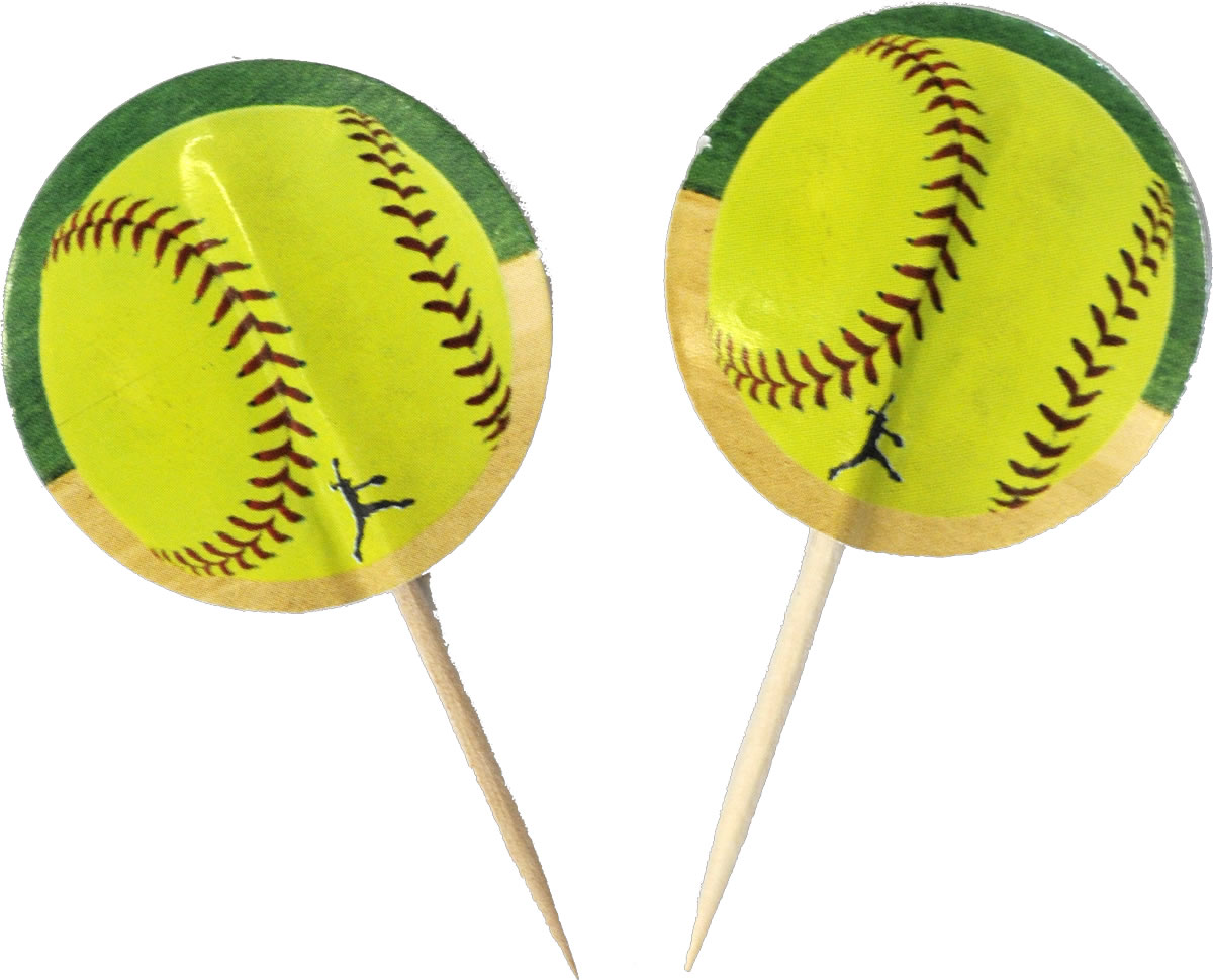 Girl's Fastpitch Softball Softball Party Picks - Extra Innings Collection