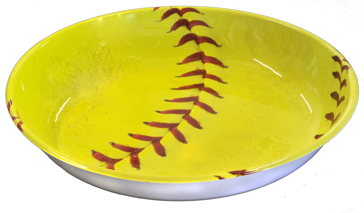 Girl's Fastpitch Softball Serving Bowl - Extra Innings Collection