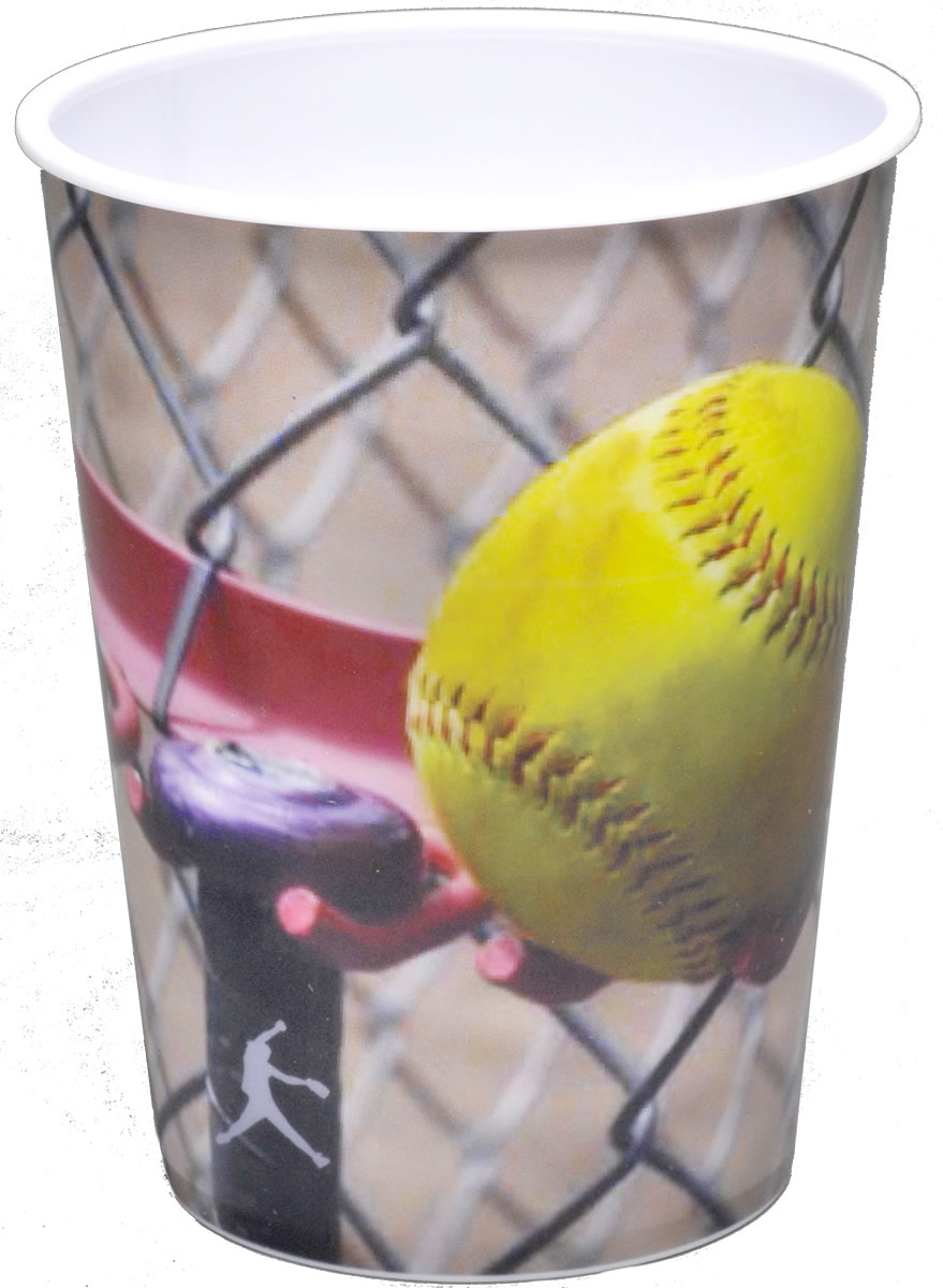 Girl's Fastpitch Softball 16 oz. Souvenir Cup