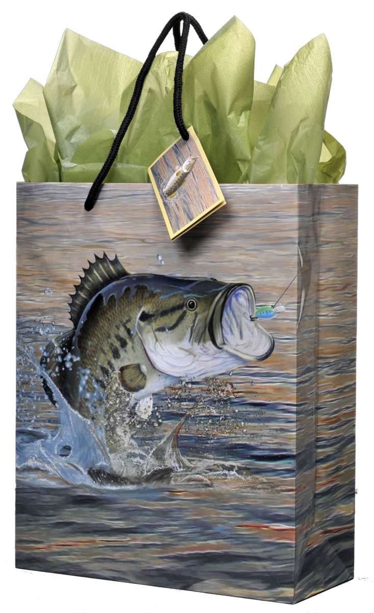 Gone Fishin' Gift Bag