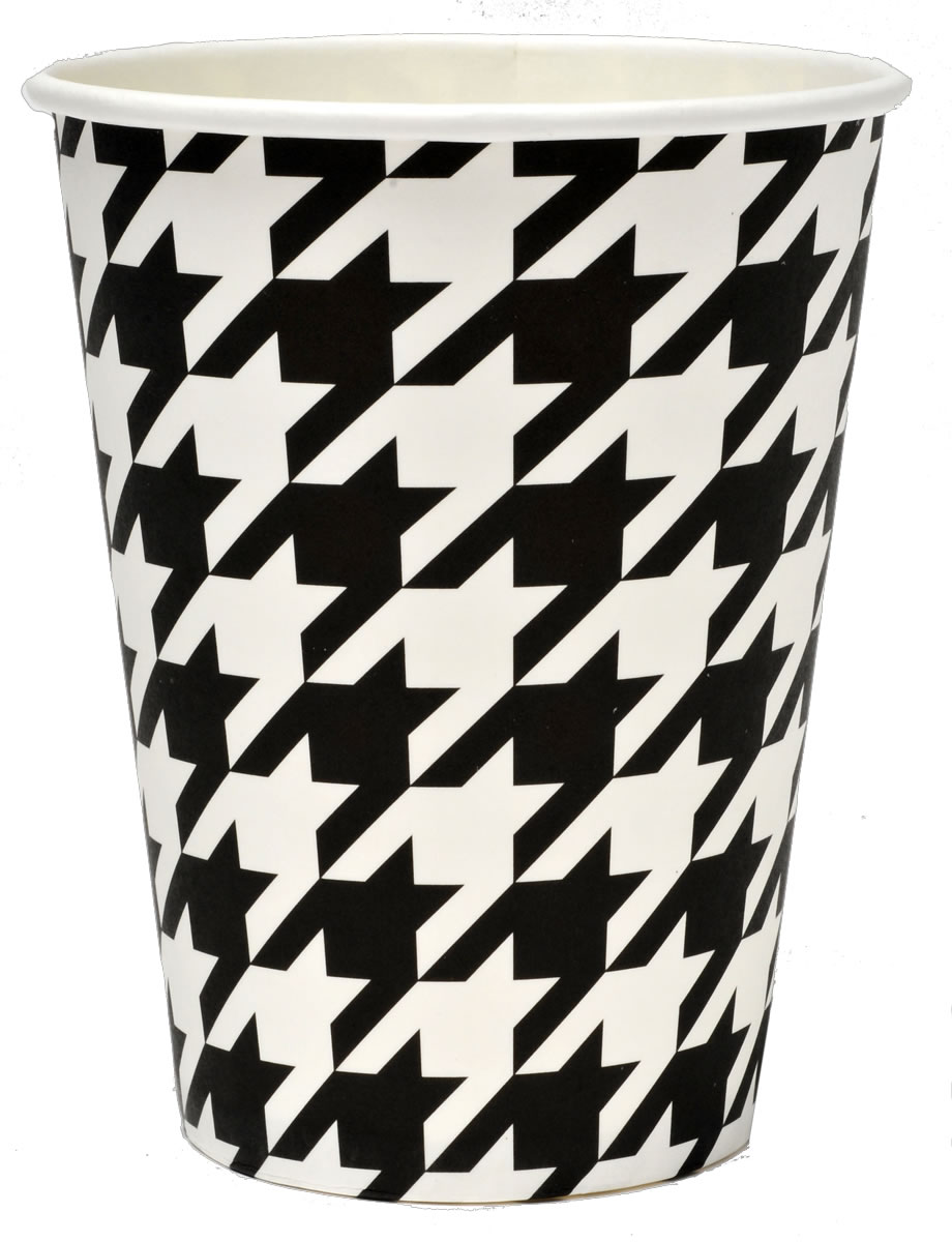 Houndstooth - Classic Paper Party Cup