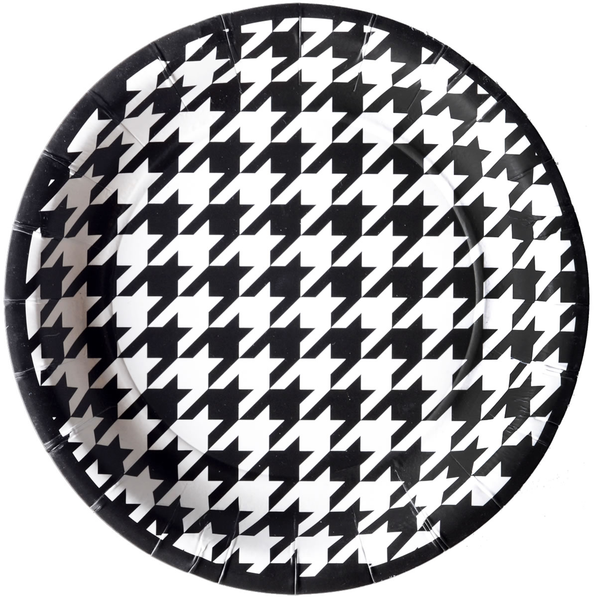 Houndstooth - 7 Inch Party Plate