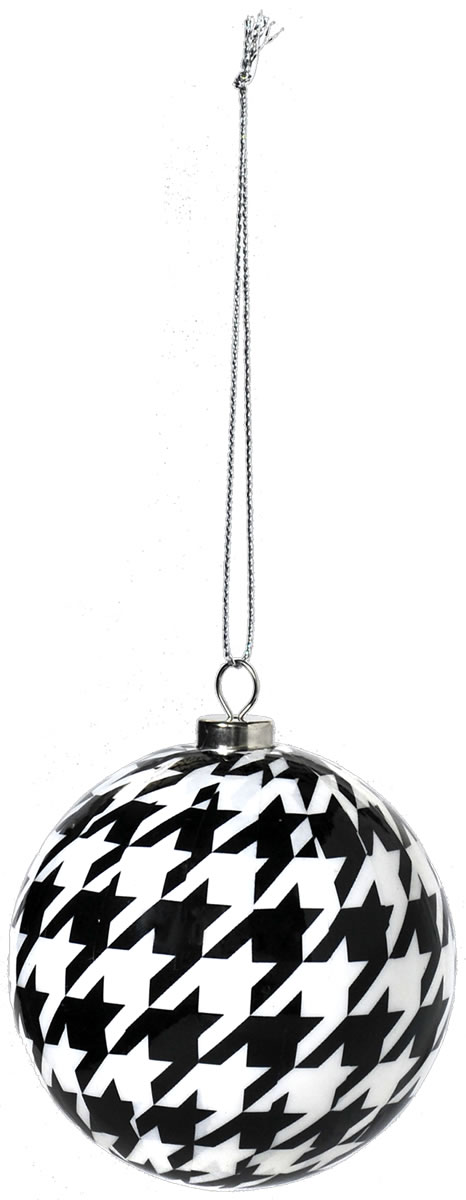 Houndstooth Ornament - Havercamp Products - Cool, Licensed, Party Products - Products