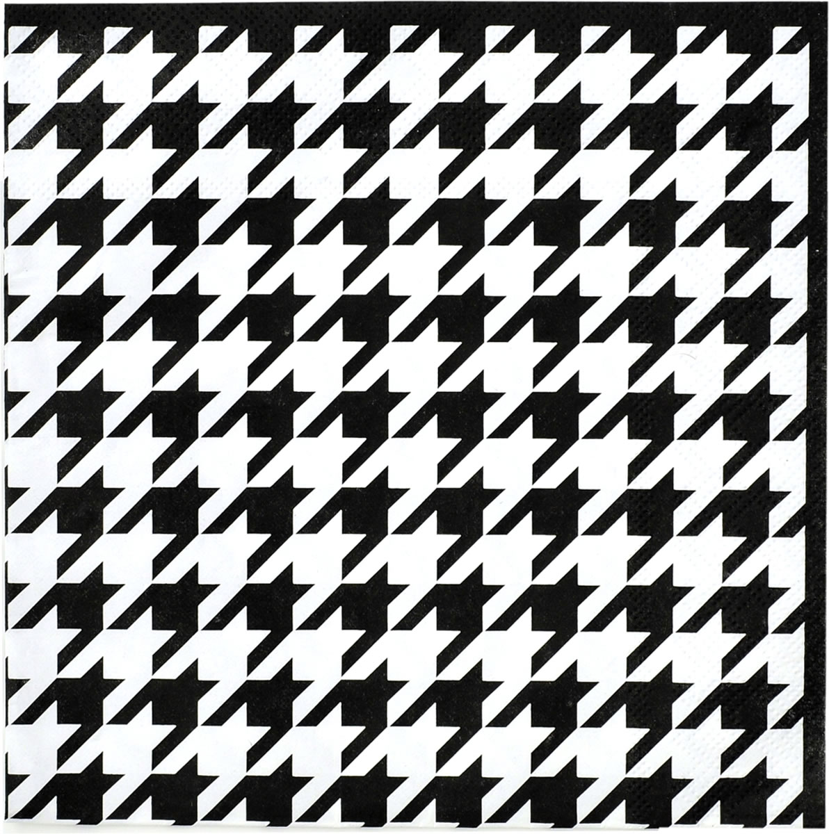 Houndstooth - Luncheon Napkin