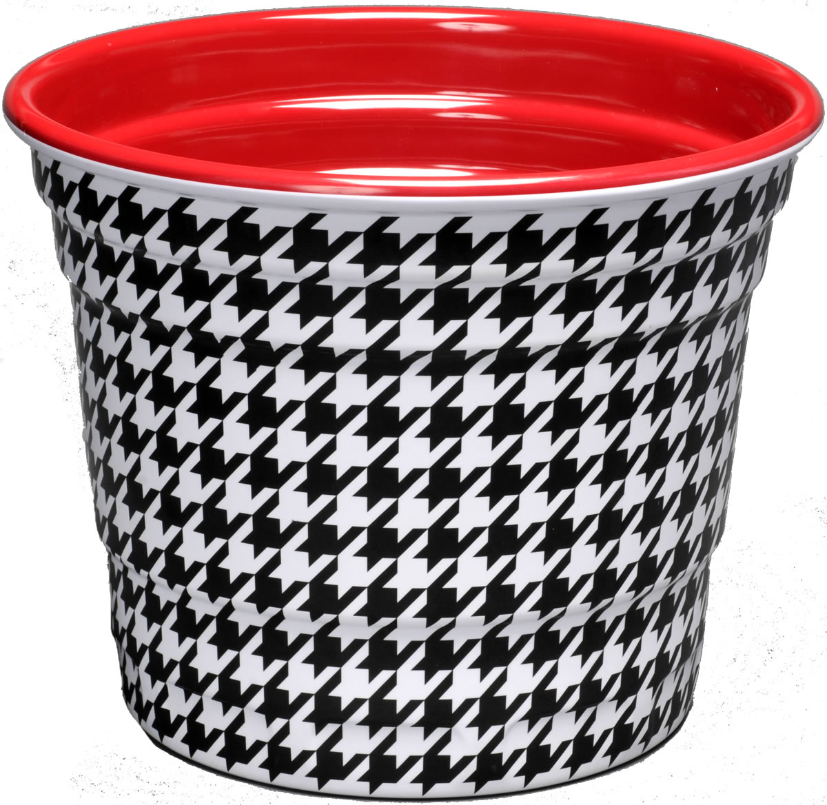 Houndstooth Party Bucket