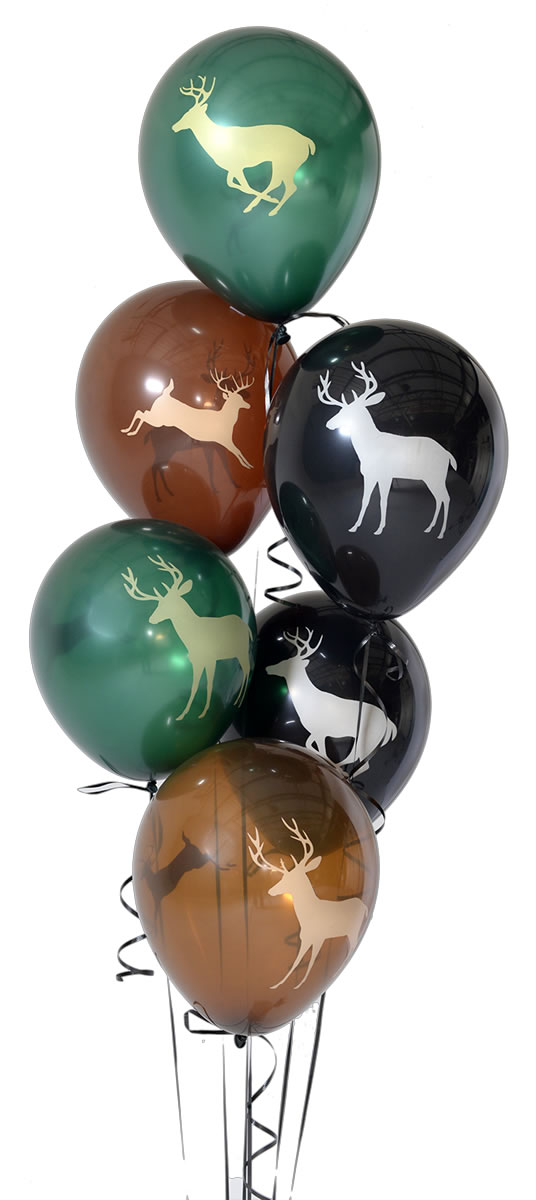 NEXT Camo Latex Buck Balloons