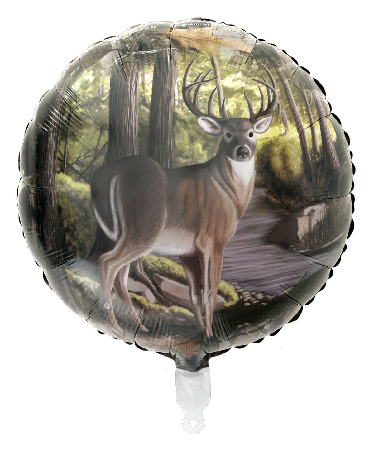 Buck-Camo Mylar Balloon