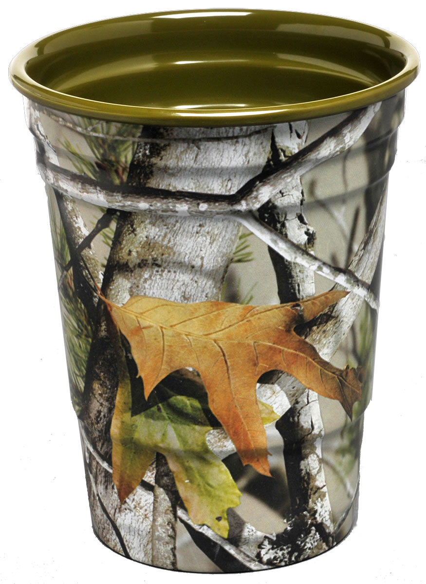 Next Camo Party Cup -Green Interior