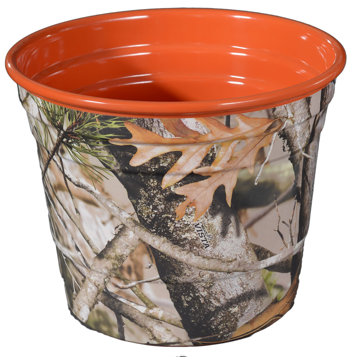 NEXT Camo Party Bucket with Orange Interior