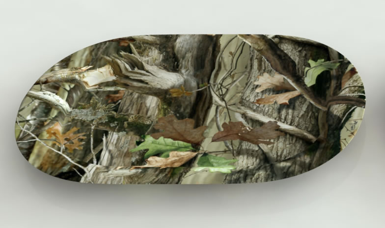 NEXT Camo OVAL Plastic Serving Platter