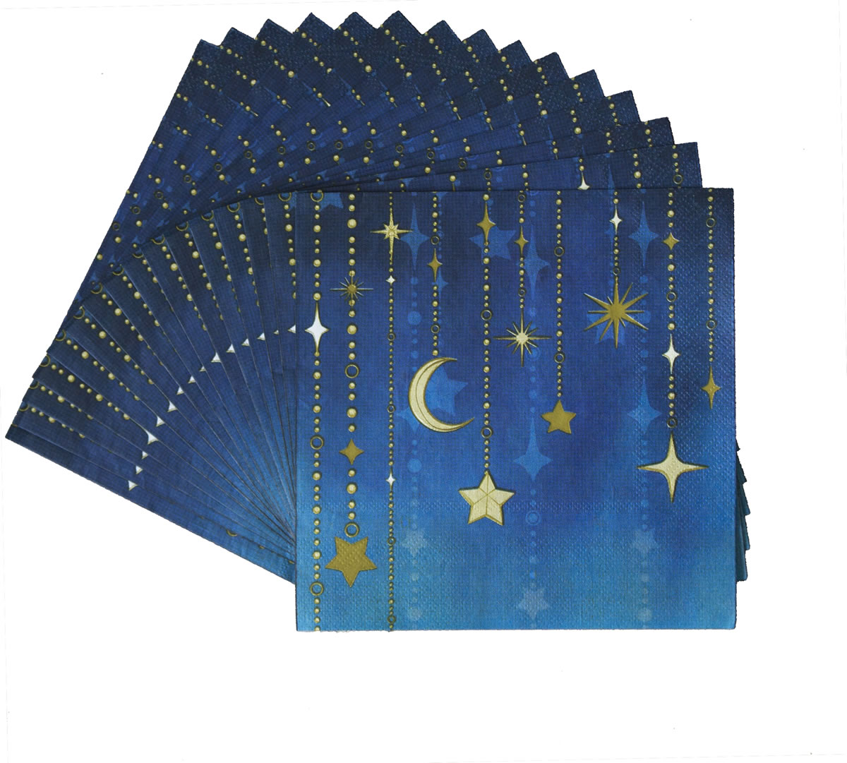Starry Night Luncheon Napkin