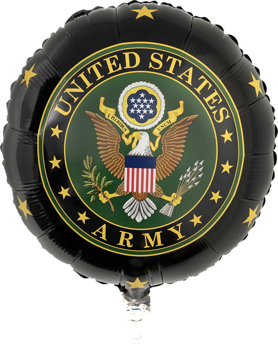 US Army Mylar Balloon
