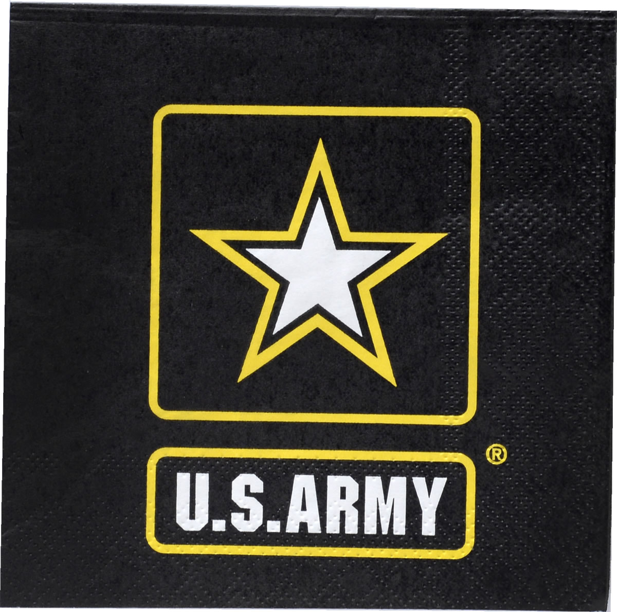 US Army Beverage Napkin