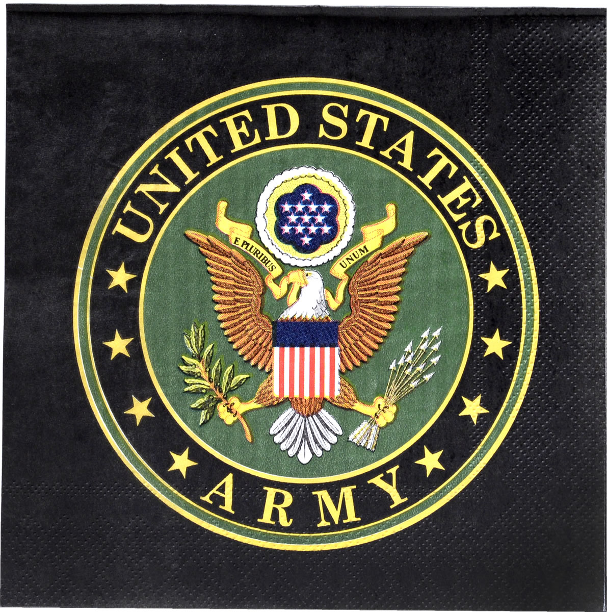 US Army Luncheon Napkin