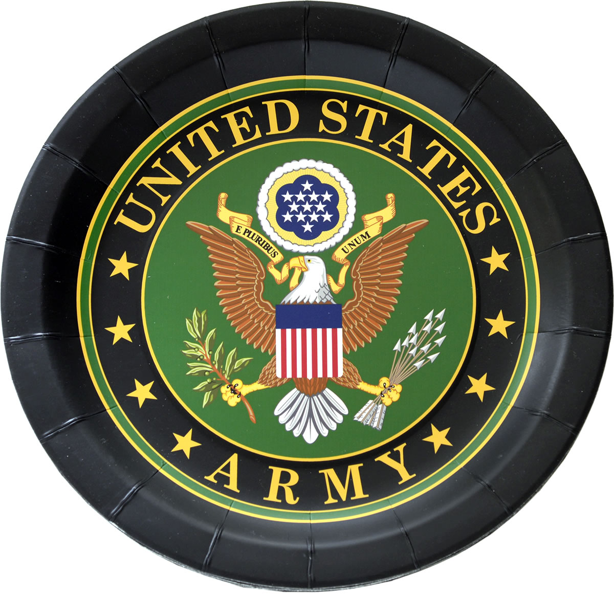 US Army Party Plates